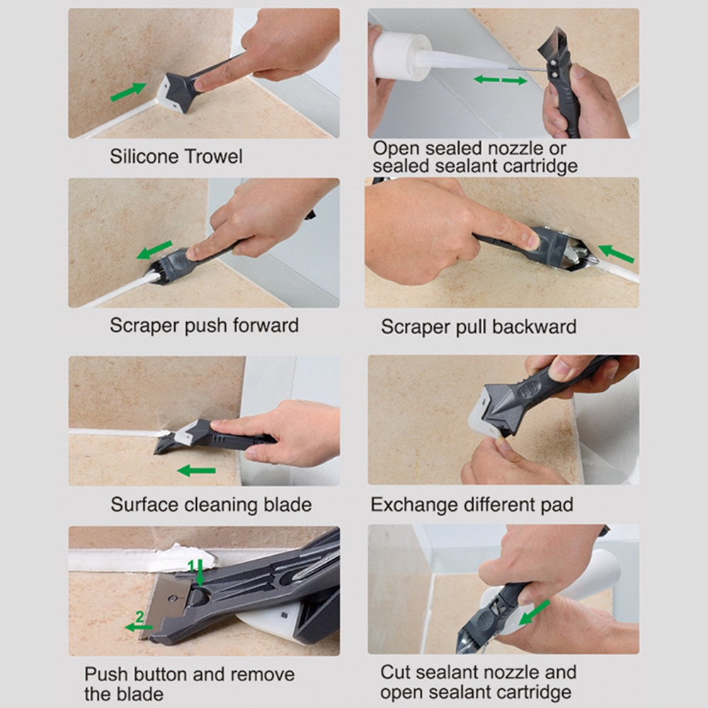 Silicone Removal And Caulking Multi-Tool
